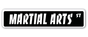 Martial Arts Street Vinyl Decal Sticker