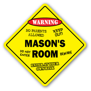 Mason's Room Vinyl Decal Sticker
