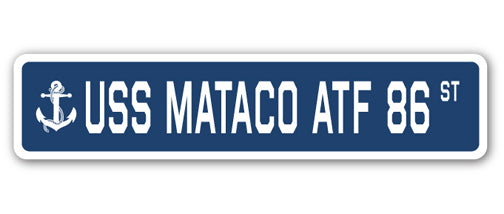 USS Mataco Atf 86 Street Vinyl Decal Sticker