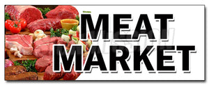 Meat Market Decal
