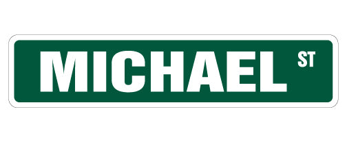 Michael Street Vinyl Decal Sticker