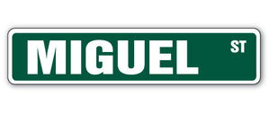 Miguel Street Vinyl Decal Sticker