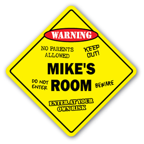 Mike's Room Vinyl Decal Sticker