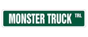 Monster Truck Street Vinyl Decal Sticker