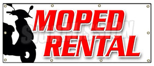 Moped Rental Banner