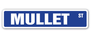 Mullet Street Vinyl Decal Sticker