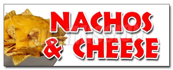 Nachos & Cheese Decal