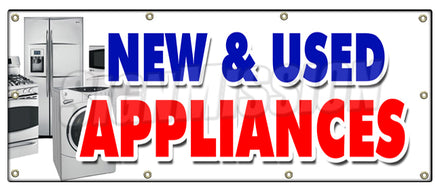 New & Used Appliances Banner