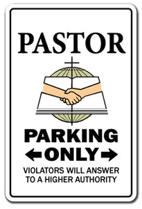 Pastor Vinyl Decal Sticker