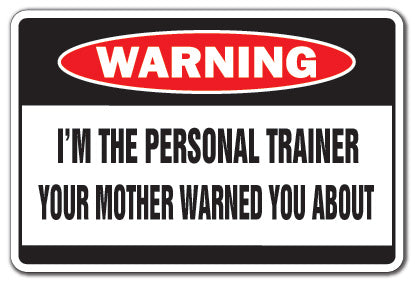 Personal Trainer Street Vinyl Decal Sticker