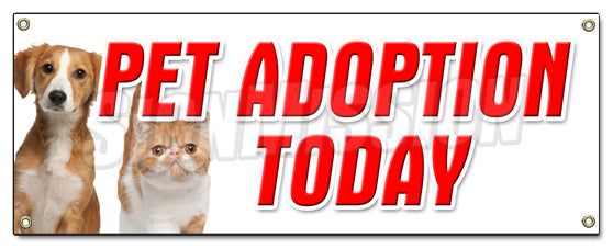Pet Adoption Today Banner