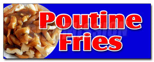 Poutine Fries Decal