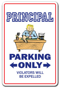 Principal Street Vinyl Decal Sticker