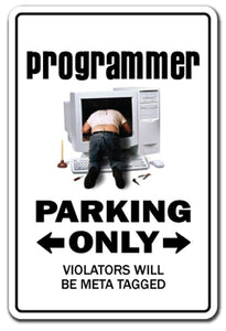 Programmer Street Vinyl Decal Sticker