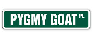 Pygmy Goat Street Vinyl Decal Sticker