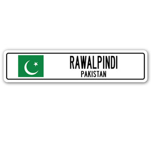 Rawalpindi, Pakistan Street Vinyl Decal Sticker
