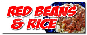 Red Beans And Rice Decal