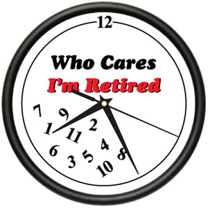 Retired Who Cares