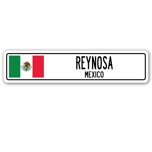 Reynosa, Mexico Street Vinyl Decal Sticker