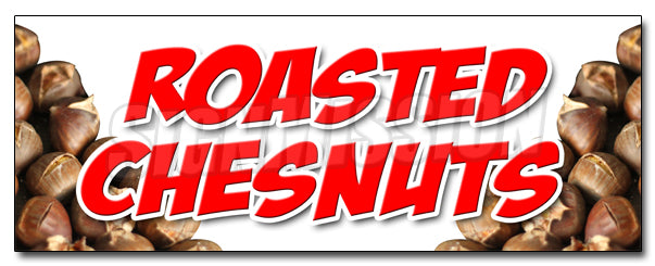 Roasted Chestnuts Decal