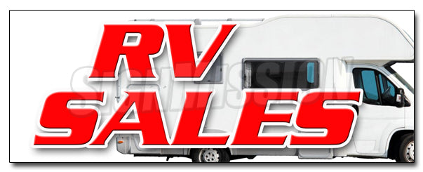 Rv Sales Decal