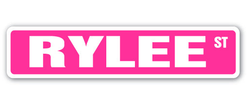 Rylee Street Vinyl Decal Sticker