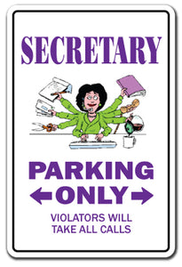 Secretary Vinyl Decal Sticker
