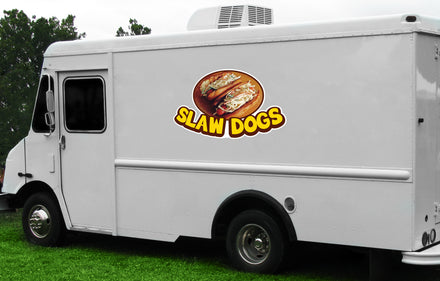 Slaw Dogs Die Cut Decal