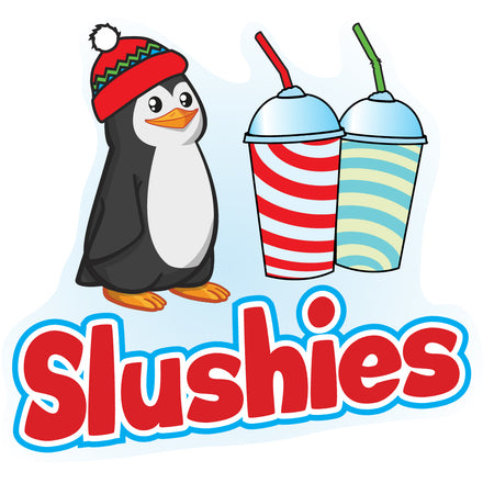 Slushies Die Cut Decal