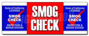 Smog Check Decal