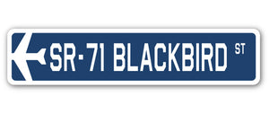 Sr-71 Blackbird Street Vinyl Decal Sticker