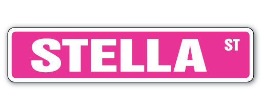 Stella Street Vinyl Decal Sticker