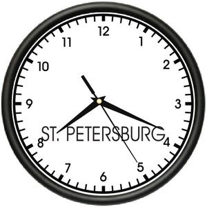 St Petersburg Time