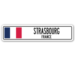 Strasbourg, France Street Vinyl Decal Sticker