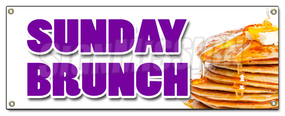 Sunday Brunch Banner
