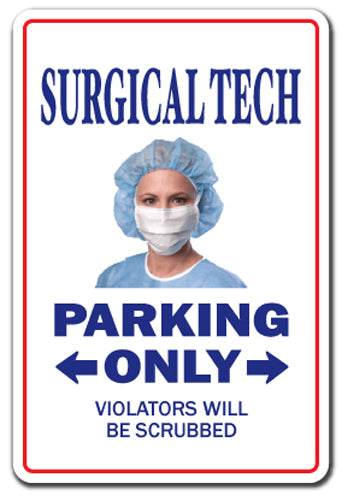 Surgical Tech Vinyl Decal Sticker