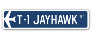 T-1 Jayhawk Street Vinyl Decal Sticker