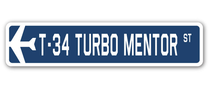 T-34 Turbo Mentor Street Vinyl Decal Sticker