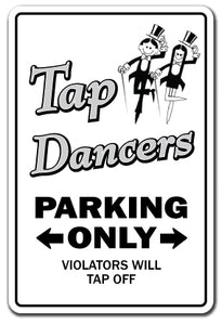 Tap Dancers Vinyl Decal Sticker