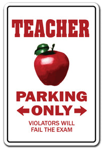 Teacher Street Vinyl Decal Sticker