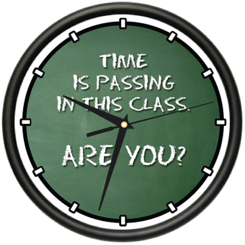 Teacher Time Is Passing