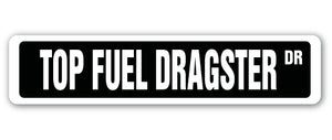 Top Fuel Dragster Street Vinyl Decal Sticker