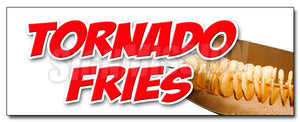 Tornado Fries Decal