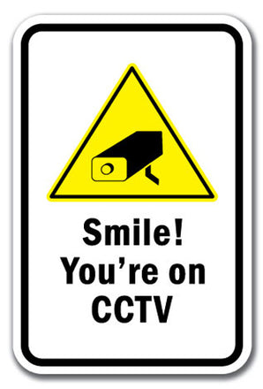 Smile! You're On CCTV