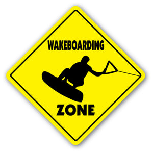 Wakeboarding Street Vinyl Decal Sticker