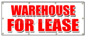 Warehouse For Lease Banner