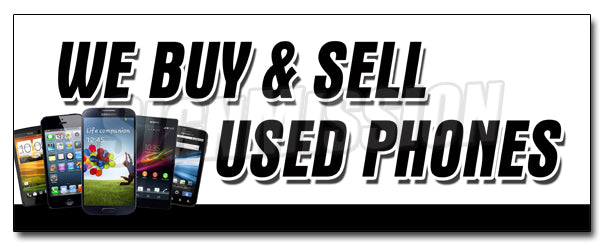 We Buy And Sell Used Pho Decal