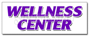 Wellness Center Decal