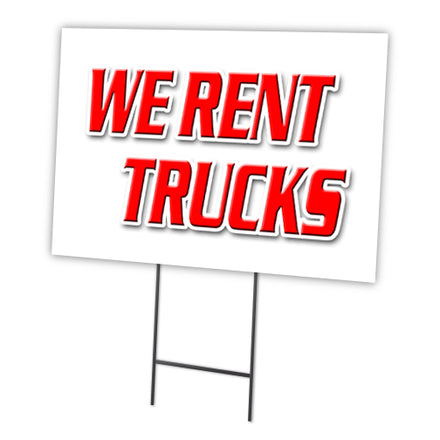 WE RENT TRUCKS