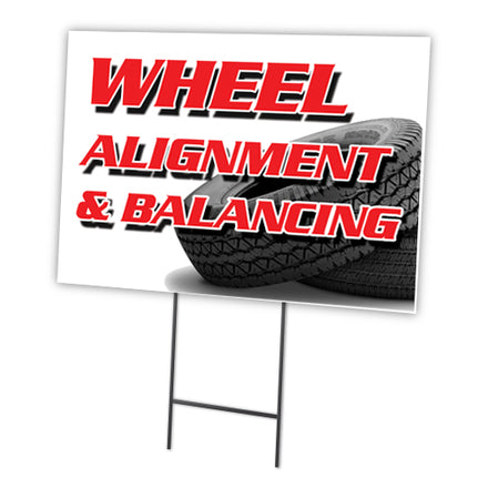WHEEL ALIGNMENT & BALANCING